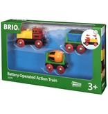 BRIO BRIO - BATTERY OPERATED ACTION TRAIN