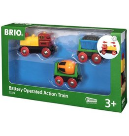 BRIO BRIO - BATTERY OPERATED ACTION TRAIN