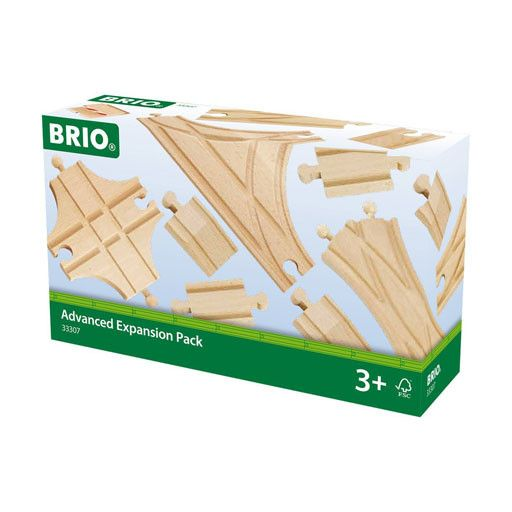 BRIO ADVANCED EXPANSION PACK - Wooden Track