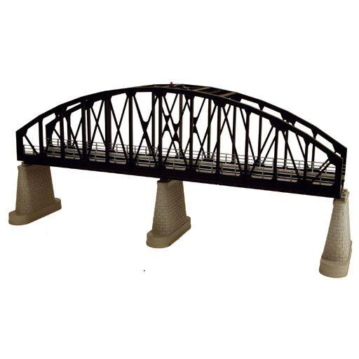 MTH - RailKing 401105 - Arch Bridge Black 1 track