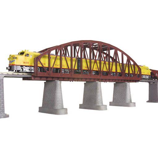 MTH - RailKing 401103 - Arch Bridge Rust 1 track