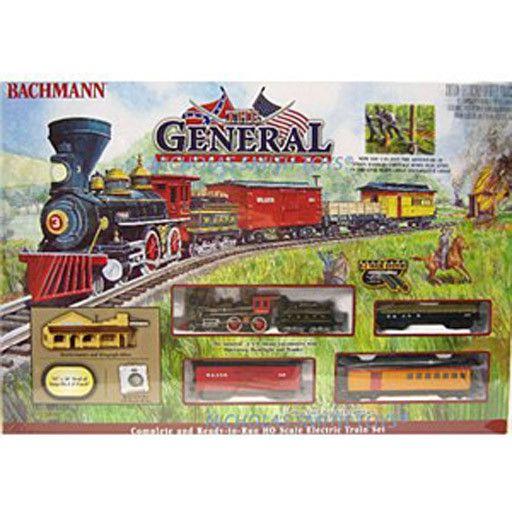 BACHMANN 736 THE GENERAL SET - HO