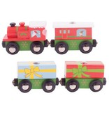 Big Jig Toys CHRISTMAS -  WOODEN TRAIN