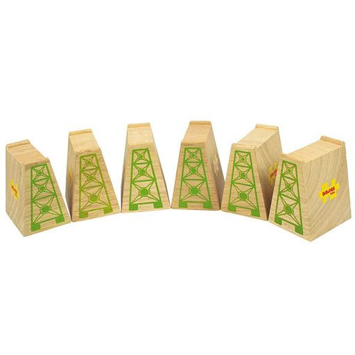 Big Jig Toys HIGH LEVEL BLOCKS  - for Wooden Track