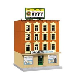 MTH - RailKing 3090462 - CLEANERS 4 STORY DOWNTOWN