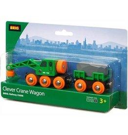 BRIO BRIO - CLEVER CRANE WAGON