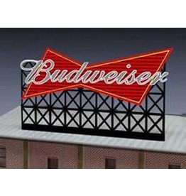 Miller Engineering 4981	 - 	SIGN BUDWEISER