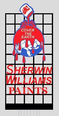 Miller Engineering 9981 - SIGN SHERWIN WILLIAMS