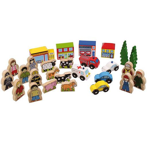 Big Jig Toys TRACKSIDE ACCESSORY SET