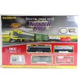 BACHMANN 826 THUNDER CHIEF SET - HO - DCC Train Set, Santa Fe (DCC sound-equipped)