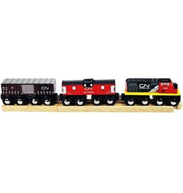 Big Jig Toys CN TRAIN - WOODEN TRAIN SET