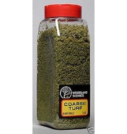 Woodland Scenics 1362	 - 	COARSE TURF BURNT GRASS