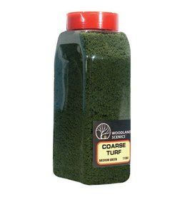 Woodland Scenics 1364	 - 	COARSE TURF MED. GREEN
