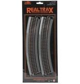 MTH - HO 811018 - HO RealTrax 18 Radius Curve Co