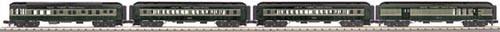 MTH - RailKing 3069173 - PASSENGER N.Y.C. 4 CAR SET