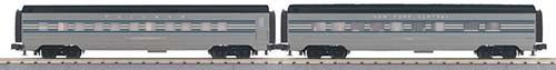 MTH - RailKing 3067756 - PASSENGER NYC 2 CAR SLP/DIN