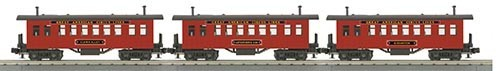 MTH - RailKing 306436 - PASSENGER OVERTON 3 CAR CIRCUS
