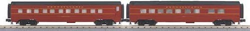 MTH - RailKing 3067647 - PASSENGER PRR 2 CAR SLP/DIN