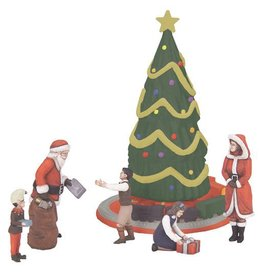 MTH - RailKing 3011062 - Christmas Figure Set - 6 Piece