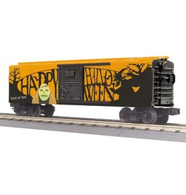MTH - RailKing 30-74845  -  HALLOWEEN O Gauge RailKing Box Car