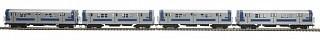 MTH - HO 8023471 - MTA R17 4CAR Subway Set w/PS 3.0