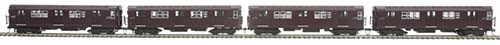 MTH - HO 8023481 - MTA HO R-17 4-Car Subway Set w/Proto-Sound 3.0