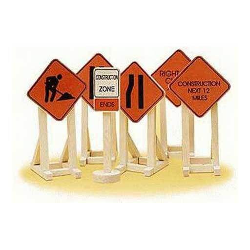 Lionel 632902 - CONSTRUCTION SIGNS
