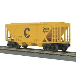 MTH - RailKing 337505	 - 	Hopper Car CHESSIE COVERED