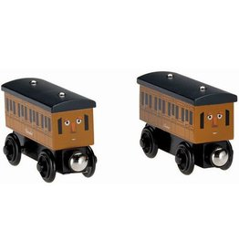Thomas the Tank ANNIE & CLARABEL - Wooden Thomas the Tank - Fisher Price