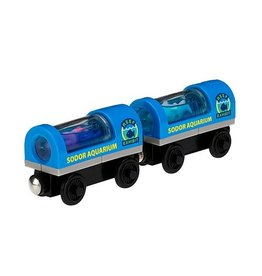 Thomas the Tank AQUARIUM CARS - Wooden Thomas the Tank - Fisher Price