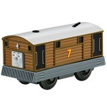 Thomas the Tank TOBY - Battery Operated - Wooden Thomas the Tank - Fisher Price