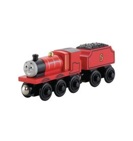 Thomas the Tank JAMES - Wooden Thomas the Tank - Fisher Price