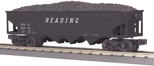 MTH - RailKing 3079014	 - 	Hopper Car w/Operating Coal Loa