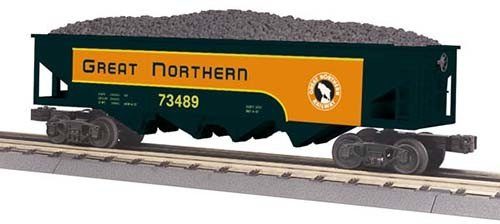 MTH - RailKing 3075429 - HOPPER Gr NORTHERN 4 BAY