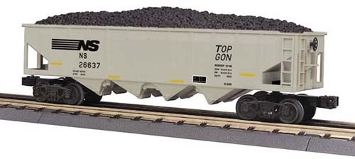 MTH - RailKing 3075442	 - 	HOPPER NORFOLK SOUTHERN 4-bay