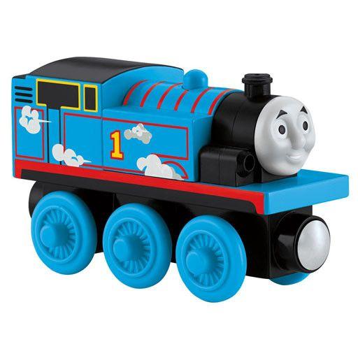 Thomas the Tank ROLL N' WHISTLE THOMAS - Wooden Thomas the Tank - Fisher Price