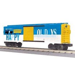 MTH - RailKing 30-74842 O Gauge RailKing Happy Holidays Boxcar 2016