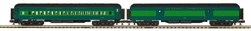 MTH - RailKing 20-44031 2-Car Madison Baggage/Coach Set