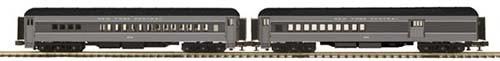 MTH 20-41014 2-Car 70' Madison Comb/diner Set
