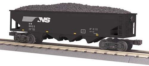 MTH - RailKing 3075423 - HOPPER NORKFOLK SOUTHERN 4 BAY