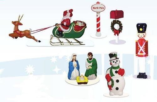 Lionel 6-37997 CHRISTMAS  LAWN FIGURE PACK