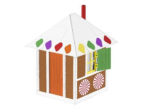 Lionel 6-82708 CHRISTMAS GINGERBREAD SHANTY
