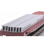 MTH - RailKing 3050007	 - 	I-Beam 8-Piece Set