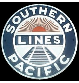 CUSTOM 26276	 - 	SOUTHERN PACIFIC LINES Railroad Builder Plate