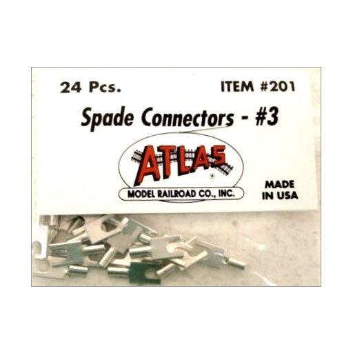 ATLAS 201 - SPADE CONNECTORS #3