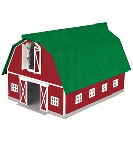 MTH - RailKing 3090407	 - 	Barn Red w/Green Roof