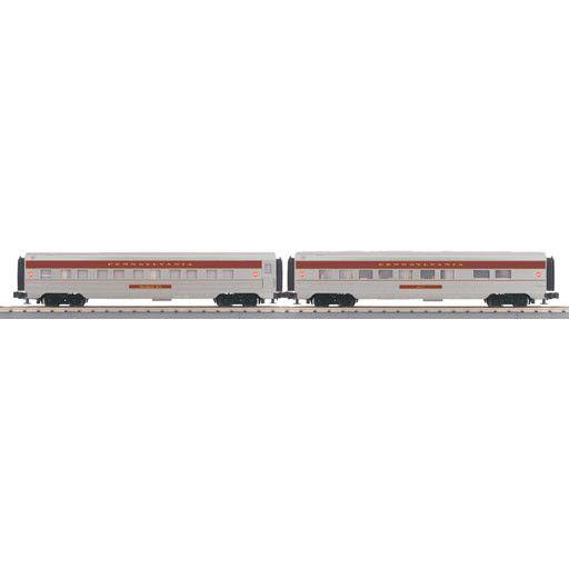 MTH - RailKing 30-67880 - Pennsylvania 2-Car 60' Streamlined Sleeper/Diner