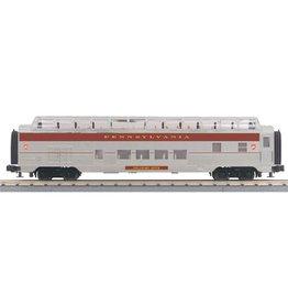 MTH - RailKing 30-67882 - Pennsylvania 60' Streamlined Full-Length Vista Dome Car