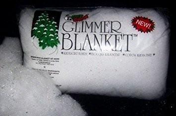 "CUSTOM SOFT SNOW BLANKET 1""X15"""