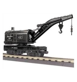 MTH - RailKing 3079436	 - 	CRANE CAR NICKEL PLATE ROAD